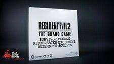 Resident Evil 2 Board Game Survivor Pledge Kickstarter Exclusive Alt Sculpts