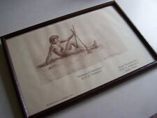 Signed Print:  Moments of Meditation by E. G. Thompson