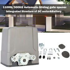 Auto-sensing Electric Sliding Gate Opener Dc Motor Remote Control 1100lb/ 500kg