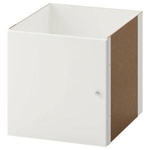 KALLAX WHITE INSERT WITH DOOR NEW FREE POSTAGE 33CM X 33CM