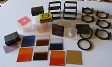 Job Lot Of Cokin Filters & Accessories - Please Take A Look