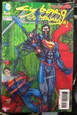 SUPERMAN ACTION COMICS # 23.1 3-D COVER 1ST PRINT DC COMICS (2013) CYBORG