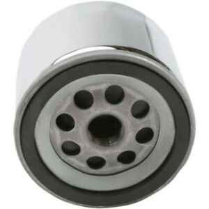 Drag Specialties Oil Filter - Spin-On - Chrome - With Nut | 14-0004K-BX29