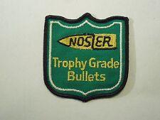 Vintage Nosler Trophy Grade Bullets Iron on Patch-Ammunition & Handloading Co