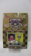 Nascar 50th Anniversary Johnny Benson Autographed Ford 1:64 Diecast NEW   dc1377