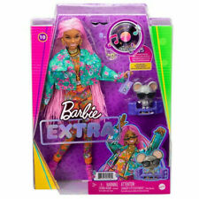 Barbie Extra Pink Hair Braids Style Doll BRAND NEW