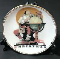 """Santa's Good Boys"" The Best Of Norman Rockwell 1983 Miniature Collectors Plate"