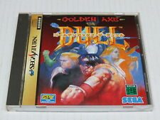 Golden Axe The Duel Sega Saturn Japan Japanese NTSC-J * Good Condition / VGC *