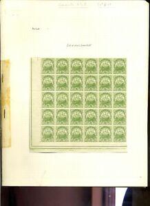 Bermuda 1922-34 2½d blocks of 30 x 2 clean MH