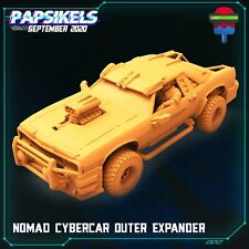 """Cyberpunk """"Nomad Outer Expand"""" Papsikels   28mm-35mm   DnD   Tabletop   Boneshop"""