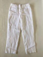 New JCREW Rhodes pant in linen White Size 8 G4372