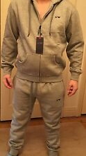 Armani Jeans Tracksuit, Zip Up Hoodie, Grey, NWT,  2XL