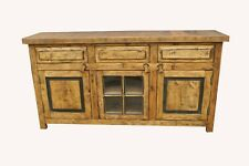 Bryson Rustic Weathered Natural Stain double sink Bathroom Vanity