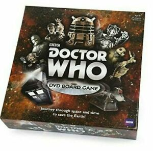 BBC Doctor Who DVD Board Game - New & Sealed