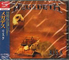 MEGADETH-RISK-JAPAN SHM-CD BONUS TRACK D50