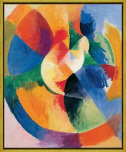 Framed Robert Delaunay Sun Giclee Canvas Print Paintings Poster Reproduction