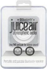 JUICE AIR BLUETOOTH WIRELESS PORTABLE AUDIO SPEAKER PAIRABLE iPHONE  NEW SEALED