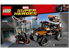 LEGO CROSS BONES HAZARD HEIST Super Heroes Instruction Booklet 76050 NEW