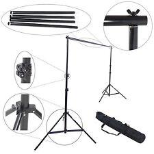 Support de Fond Studio Photo Video Trépied Professionnel Multi Stand 3 mt + Sac