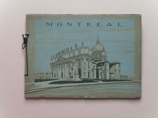 Montreal in Halftone - Pictorial Album w/ Panorama View & Vintage Photos, 1900s