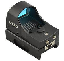 UTAC Tactical Micro Mini Compact Red Dot Open Reflex Sight Integral Mount [RD03]