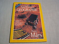 NATIONAL GEOGRAPHIC August 1998 MARS & TITANIC IN 3-D +GLASSES Orangutans WHALES