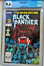 ***Black Panther #1***A HERO NO MORE***CGC GRADE 9.6 NM+***