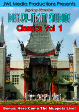 Disney-MGM Studios Vintage DVD Great Movie Ride, Here Come Muppets, Star Today