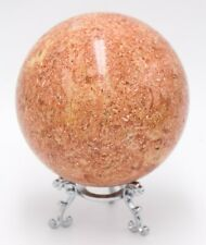Western Australia Limestone 95mm Rock Sphere Marine Shells