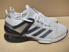 Adidas Adizero Ubersonic 2.0 Tennis Shoes (CQ1721) Size 9 White/Black