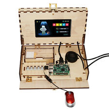 Computer kit for kids gift with HD LCD screen with bulding manual