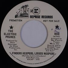 THE ELECTRIC PRUNES: Finders Keepers, Losers Weepers REPRISE Promo Psych 45 NM-
