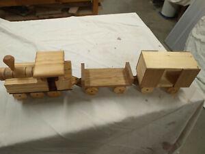 Wooden Children's Train Set