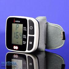 Kramer i-voice Automático hablando Digital De Muñeca Monitor De Presión Arterial RRP £ 84.99