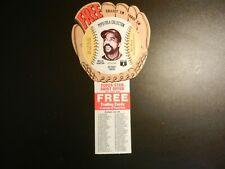 1977 *WILIE HORTON* PEPSI COLA BASEBALL STARS with OFFER & CHECKLIST  #31