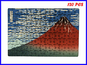 Katsushika Hokusai - Fine Wind, Clear Morning Art - 120 Piece Jigsaw Puzzle