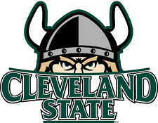 Cleveland State Vikings NCAA Color Die-Cut Decal / Car Sticker *Free Shipping