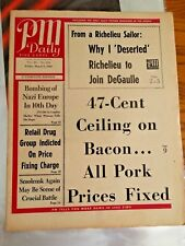 PM Daily Why I Deserted Richeli & 47-Cent Ceiling on Bacon Friday Mar 5, 1943 3