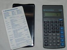 Texas Instruments Ti-30X Calculator Works w/ Quick Reference Card