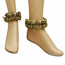 Traditional Classical Dancing Indian Ethnic Ghungroo Anklet Women Jewellery