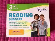 Sylvan Learning 3rd Grade Reading Success multi-media program Home School