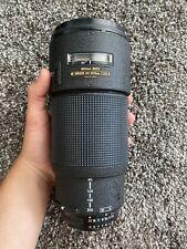 Nikon Zoom-NIKKOR 80-200mm f/2.8 AF-S D IF ED Lens