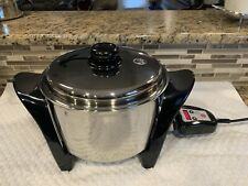 Saladmaster Regal Ware 5 qt Oil Core ELECTRIC Slow Cooker Stock pot MP5 SA005OCU