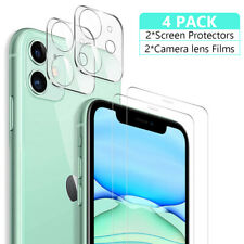 Tempered Glass Screen Protector+Camera Lens Protector For iPhone 11/11 Pro Max