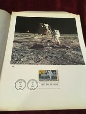 Apollo 11 First Man On The Moon - First Day Issue Stamp
