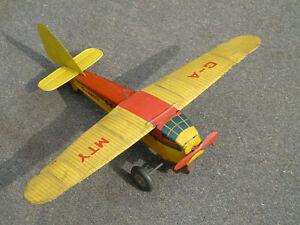 Small Tinplate Mettoy Monoplane