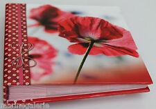 mini album photo fille 160 pochettes 10x15 Lot de 2 rouge couverture rigide neuf