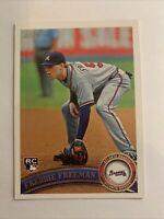 2011 Topps #145 Freddie Freeman RC Rookie Braves