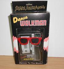 Vintage dancing black WALKMAN DANCEMAN with Shades & Headphones Boxed 80's