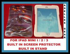 AVENGERS HEAVY DUTY  -3-PIECE COVER CASE FOR  IPAD MINI 3 2 1  AVENGERS RED